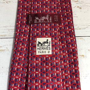 Hermès 100% Silk Tie